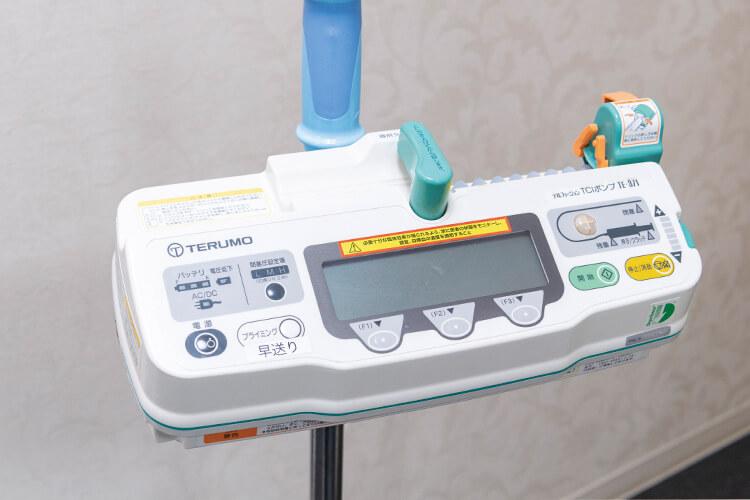 麻酔用TCIポンプ